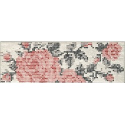 INS.S/1 FLOWERS WHITE 8,6X26,2